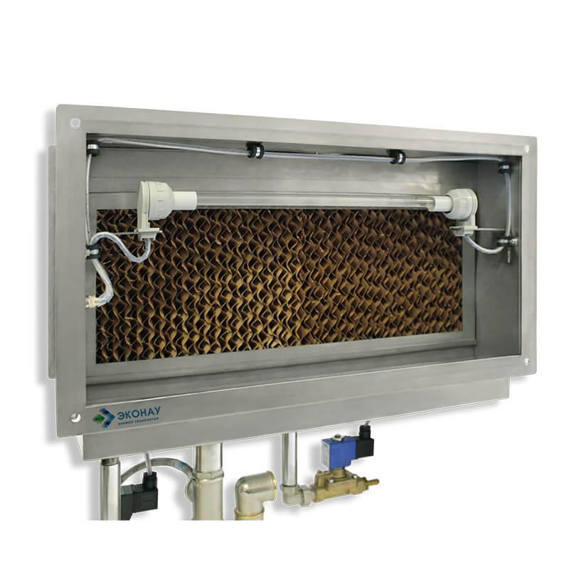 Канальный сотовый увлажнитель воздуха Эконау ЕК-70 купить на ЭКОНАУ