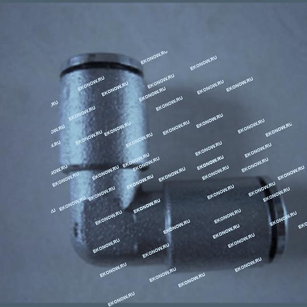 Соединитель Г-образный для шланга 3/8 (пуш-лок) купить на ЭКОНАУ